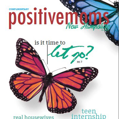 Positive Moms Magazine (Social Media Client)